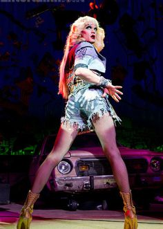Neil Patrick Harris as Hedwig in Hedwig and the Angry Inch!