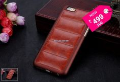 Luxury Retro back cover for iphone 6 4.7 inch high quality Vintage leather hard case... Luxury retro leather back cover case for iphone 6 4.7 inch + Free Delivery across India.
