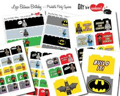 lego batman party invitations printable - Google Search