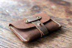 Treasure Chest Credit Card Wallet - Coin Purse Wallet - JooJoobs Original Design - Leather Wallets [011]
