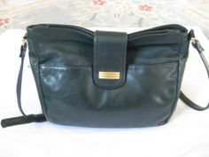Vintage 1980s Lord & Taylor Green Cross Body by EdithErnestine, $28.00