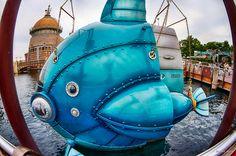 https://flic.kr/p/J1buWw | Blue Submarine - ブルーサブマリン | 東京ディズニーシー乗り物シリーズ。…