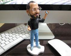 http://groupcow.com/int/en/apple-ceo-steve-jobs-limited-edition-miniature-sculpture-cancer-charity-sale-100015.html  Steve Jobs Mini Sculpture for Charity  Happy birthday Steve...