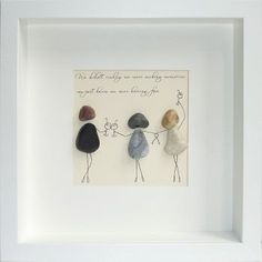 Buy Pebble pictures, custom-made unique gifts for - family - friends or a treat for yourself. Set your memories in stone with pebble art from the heart .