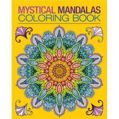 Mystical Mandalas Coloring Book