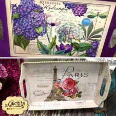 Con sus diseños y detalles antiqued, estas bandejas vintage le darán ese toque extra decorativo que necesita tu mesa. ¿Cuál diseño te gusta? #DecoracionBodas2017 #TendenciasDecoracion2017 #CentrosDeMesaCali