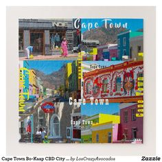 Cape Town Bo-Kaap CBD City South Africa Jigsaw Puzzle