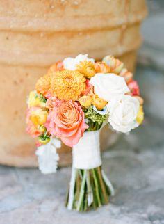 Floral Design: Sue Prutting Bethesda, MD sdprutting@ - http://www.stylemepretty.com/portfolio/sue-prutting-bethesda-md-sdprutting@ Photography: Erin Hearts Court - http://www.stylemepretty.com/portfolio/erin-hearts-court   Read More on SMP: http://www.stylemepretty.com/2014/11/08/bright-orange-malibu-wedding/