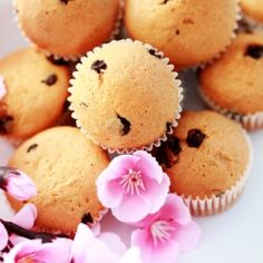 Deliciously moist and easy to make chocolate chip muffins