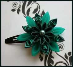 1000+ images about Kanzashi Flowers on Pinterest ... - photo#39