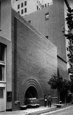 Frank Lloyd Wright, Morris Store, San Francisco, California, 1948 1949 — Designspiration