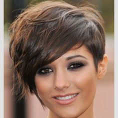I still have so much love for this simple haircut.... Frankie rocks it... Pixie bob crop.. Love or hate it..