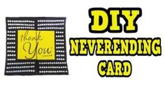 DIY NEVERENDING CARD Visit:  https://youtu.be/NVcexrkyofk   #diy #craft #crafts #card #cards #greetingcards ##greetingcard #homemade #handmade #cardmaking