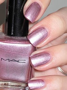 Review of M.A.C. Nail Lacquer- Luxurious | Nailstah
