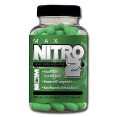 MAX NITRO 2 - Max Muscle Sports Nutrition (Aminoacidi)  DESCRIZIONE: Max Nitro 2 è un integratore pre-workout che promuove la produzione di ossido nitrico.