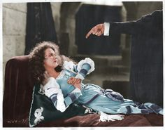 Mary Philbin In Color Still In The Phantom Of the Opera (1925)