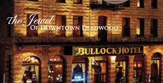 The Bullock Hotel in Deadwood, South Dakota is said to be haunted by Seth Bullock, the first sheriff. Mount Mariah Cemetary overlooking the town is also a must see. I loved visiting this place!