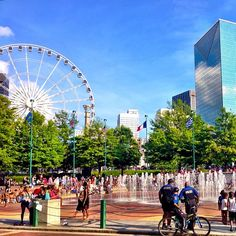 Centennial Olympic Park, downtown Atlanta, Georgia