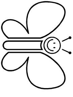 3 yaş kelebek boyama ile ilgili görsel sonucu