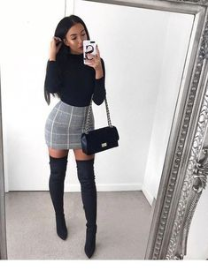 Winter Date Night Outfits – Damen Frühjahr & Sommer Mode … - Outfits Elegantes Outfit Frau, Winter Date Night Outfits, Summer Outfits, Date Night Outfit Classy, Winter Dresses, Party Outfit Winter, Casual Night Out Outfit, Fall Outfits For Teen Girls, Miami Outfits