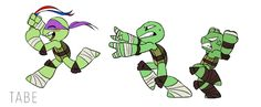 Donnie: hahahahaha! Raph: I'm not kidding Donnie! Leo: Donnie! me: OMG DONNIE YOUR TOO CUTE EVEN WHEN YOU LOOSE YOUR SMARTS!