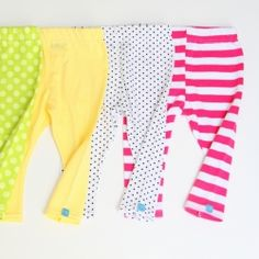 Super Simple baby leggings.....only 2 pattern fabric pieces.  Easy enough to make on a standard sewing machine.