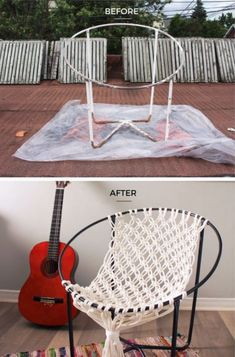 Awesome Macrame Chairs You Will Love To Make