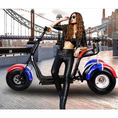 Elektrotrike Trike Scooter Roller Neuheit Elektroroller 2000 Watt Strassenzulassung