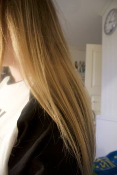 #ombre#hair#blonde#brown