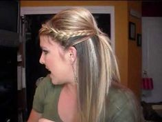 Hair Tutorial: Braided Half Updo