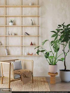 Hãy sử dụng cây cối và hoa để trang trí cho phong cách thiết kế nhà chung cư thân thiện môi trường. Thực vật sẽ giúp bầu không khí của căn hộ thêm trong lành. #interior #interiordesign #interiors #apartment #apartments #chungcư #インテリア#interieur #innenraum