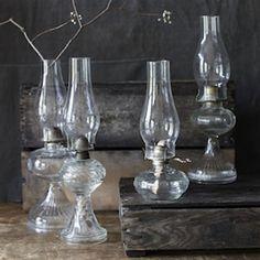 Greenhouse Design Studio. Glass oil lamp