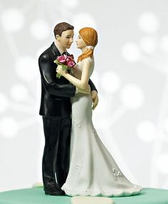 """My Main Squeeze"" Cake Topper"
