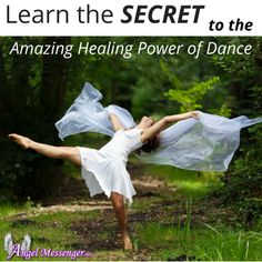 Dance can be very healing, fun and wonderful exercise too :)
