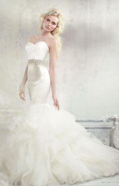 Wedding dress idea; Featured Dress: Alvina Valenta