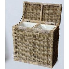 Ratanový prádelní koš HITRA 51164 Laundry Basket, Kos, Wicker, Organization, Home Decor, Getting Organized, Organisation, Decoration Home, Room Decor