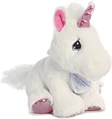 Snuggle up to soft and welcoming Aurora World's Precious Moments Sparkle Unicorn. Covered in plush and velvety fabric, this toy will stay in your child's arms all day and all night. 4th Year Anniversary Gifts, List Of Animals, Best Gifts For Men, Sister Gifts, Precious Moments, Fantasy Creatures, Aurora, Sparkle, Teddy Bear