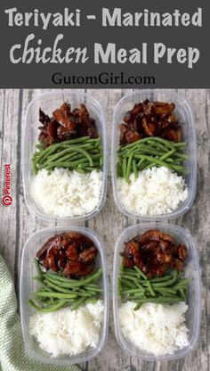 meal prep recipes Teriyaki-Marinated Chicken Meal Prep: This dish is filled with so much flavor without the strange flavor enhancers youd find in processed meals. You can of course eat this for dinner too. Either way, youll be glad you skipped take out! Clean Eating Snacks, Healthy Eating, Healthy Food Prep, Good Healthy Meals, Healthy Lunches, Health Lunches For Work, Healthy Recipes For Two, Dinner Healthy, Eating Raw