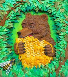 Просмотреть иллюстрацию Поедатель меда из сообщества русскоязычных художников автора Валерия Камелькова в стилях: Книжная графика, Персонажи, нарисованная техниками: Пластилин.