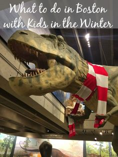 What to do in Boston with Kids in the Winter -- including suggestions on where to eat and where to stay