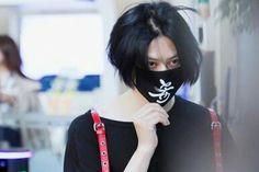 Kim heechul at airport