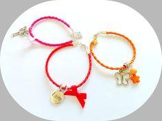 Set of Three Amazing Bracelets for Girls  Kids by splendorhoney, $9.90