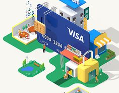 """Check out this @Behance project: """"VISA infographics"""" https://www.behance.net/gallery/21919633/VISA-infographics"""