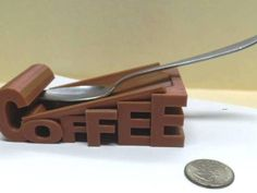 Coffee Spoon Holder via REKAM 3D Printing. Click on the image to see more!