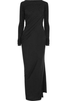 Draped jersey dress - as usual no occasion but sure wish i did....