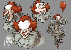 2017 Pennywise is my favorite Pennywise and Bill Skarsgård did amazing