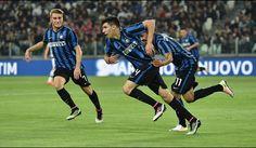 Inter vinder første kamp i Coppa Italia finalen