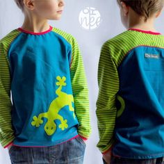 """""""Bethioua Kids"""" raglan shirt with back yoke size. - Sewing Instructions and Sewing Patterns Elle pulse, Raglan Shirts, Boys Shirts, Sewing Kids Clothes, Sewing For Kids, Childrens Sewing Patterns, Clothing Patterns, Teenager Outfits, Kids Outfits, Baby Sewing Projects"""