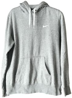 Nike Grey Youth Sweatshirt/Hoodie Size 6 (S) Nike Sweatshirts, Hooded Sweatshirts, Hoodies, Cute Summer Outfits, Outfits For Teens, Teen Girl Gifts, Grey Nikes, Tomboy Fashion, Yellow Leather