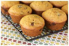 Pumpkin Chocolate Chip Muffins - my favorite pumpkins ever! - from a farmgirl's dabbles